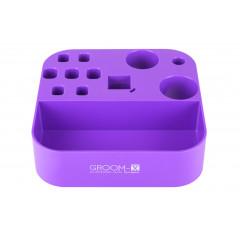 Držiak nástrojov na šibeničku - fialový