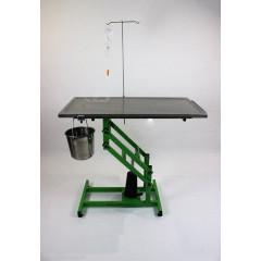 Stôl hydraulický nerezový veterinárny operačný