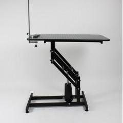 Stôl hydraulický trimovací, veterinárny so šibeničkou