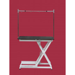 Elektrický nožnicový stôl s ručným alebo nožným ovládaním