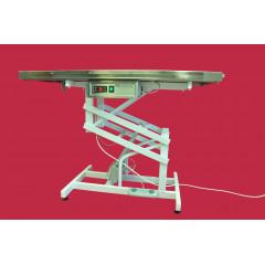Výhrevný nerezový veterinárny elektrický stôl