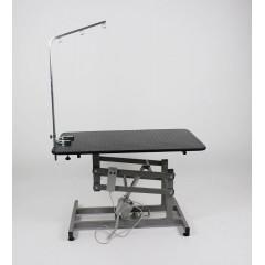 Stôl elektrický, trimovací, veterinárny s ručným ovládaním
