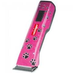 Strihací strojček Heiniger Saphir Style- 2x baterka (ružový)